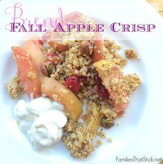 Brenda's Fall Apple Crisp