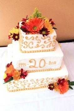 happy 20th anniversary cake