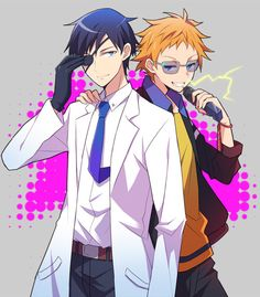 Hamatora ~~ I haven't seen it yet, but it comes highly recommended.