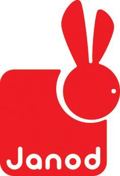 Janod Toys red rabbit logo