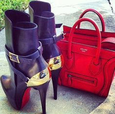 bcd6b4aa961 ohhh Celine and red bottoms Celine Bag