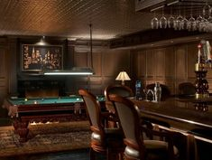 Home Bar and Billiard's Room