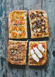 Toppings Option 1: 1/4 pound thinly sliced prosciutto, finish with 1 pound fresh burrata, sliced Option 2: 1 cup pork sausage cooked with 1 onion, sliced until browned, ricotta, finish with...