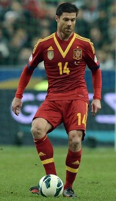 Xabi Alonso, Spain is missing you. LOL.