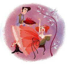 12 dansende prinsesser