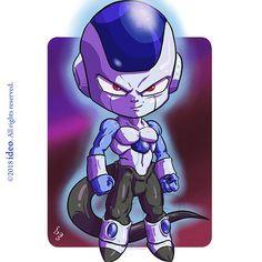 Chibi Frost by ideo Dragon Ball Z, Chibi Goku, Chibi Marvel, Chibi Characters, Cartoon Pics, Lion Sleeve, Manga, Doodle Art, Pokemon