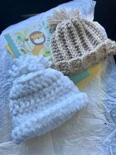 9f41a3419d3 Handmade crochet newborn baby boy beanie and blankets all colors   all sizes  .  fashion