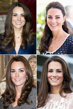 Duchess Catherine's gorgeous hair