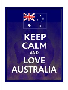 With sustainable practices we can keep calm and love Australia!