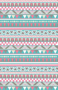 Pattern Aztec Tribal Stripe by Pixie Sticks