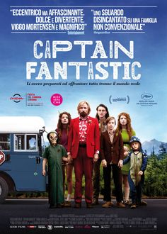 Captain Fantastic, scheda del film di Matt Ross con Viggo Mortensen, leggi la trama e la recensione, guarda il trailer, trova il cinema.