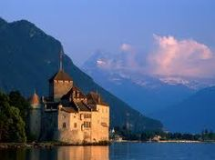 Geneva, Switzerland. Chateau de Chillon. super cool.