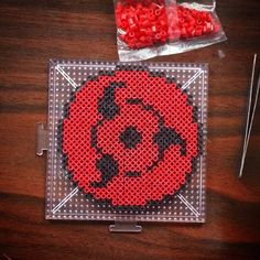 Naruto perler beads by panicdrivencustoms