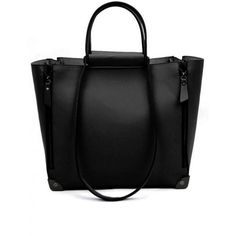 Black Vintage Satchels Bag$539.00 (1.670 UYU) ❤ liked on Polyvore featuring bags, handbags, udobuy, purses, bolsas, purse satchel, vintage purses, satchel purses, vintage satchel and handbag satchel