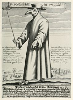 Images of plague Doctors give me the willies || Paul Fürst, Der Doctor Schnabel von Rom