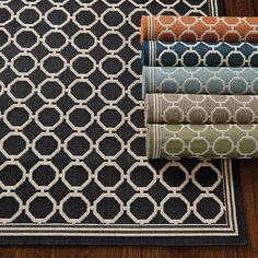 Bermuda Indoor Outdoor Rug | Ballard Designs - in sage or mocha?