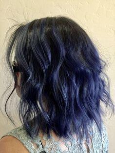 """Résultat de recherche d'images pour """"midnight blue hair"""""""