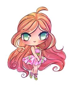 Winx Club-Flora by mochatchi on DeviantArt