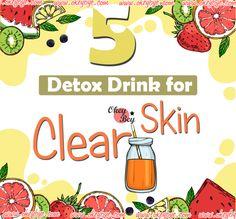 5 Best Detox Drinks for Clear Skin 2020 – Okey Bye Detox Drinks, Fun Drinks, K Beauty Routine, Beauty Tips, Clear Skin Detox, Avocado Face Mask, Best Detox, Skin Cleanse, Moisturizer For Dry Skin