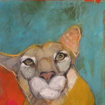 """The Philosopher 16""""x16"""" oil on panel - Donated for auction benefitting Girls, Inc, Santa Fe, NM"""