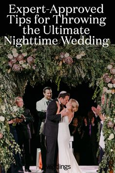 Getting married at night can be incredibly beautiful, but it does require somewhat different planning. Here, expert-approved tips for planning the ultimate nighttime wedding. Night Time Wedding, Wedding Dinner, Wedding Ceremony, Unique Wedding Venues, Wedding Trends, Wedding Ideas, Martha Stewart Weddings, Indoor Wedding, Reception Table