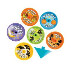Little Boolievers Spin Tops - OrientalTrading.com