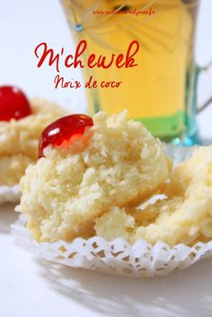 Mchewek noix de coco Oreo Cheesecake, Beignets, Cookie Desserts, Sweets Recipes, Mashed Potatoes, Fondant, Tart, Caramel, Food And Drink