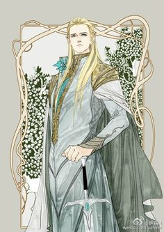 I clung to my Adar's arm as I looked up the aisle and saw Legolas. He was wearing a silver robe, embroidered with gold. And a matching cape. He looked as nervous as I felt, but he gave a small smile as I slipped my hands into his. King Thranduil began to speak...