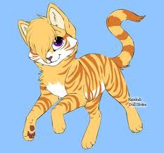 If I were a warrior cat I would look like this!(I hope!)