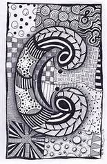 Zentangle Letters to Print - Bing images