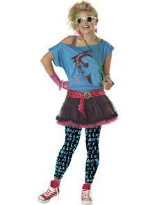 1980s Teen Valley Girl Costume
