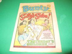 BUNTY MAGAZINE 3RD DECEMBER 1988, IDEAL BIRTHDAY GIFT TO CELEBRATE HER BIRTH