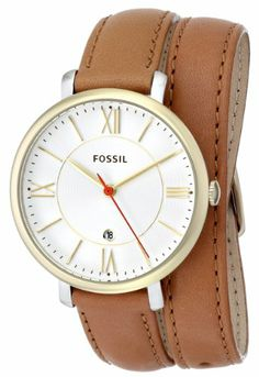 Fossil Women's ES3550 Jacqueline Analog Display Analog Quartz Brown Watch | Your #1 Source for Watches and Accessories