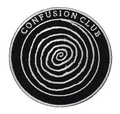 Image of Confusion Club Patch Preorder