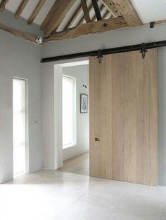 scheiding naar badkamer/ of op zolder/ naar bijkeuken