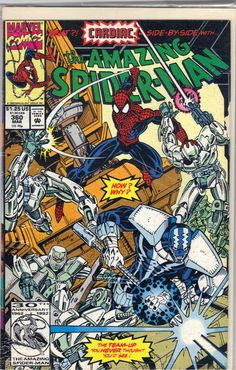 Spider-Man and Cardiac team-up ... : The Amazing Spider-Man #360 °°