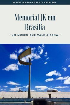 Um lugar imperdível quando se está em Brasília. Leia neste post mais detalhes sobre o Memorial JK.