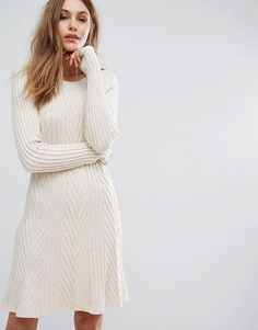 Boss Orange By Hugo Boss Willabelle Cable Knit Dress
