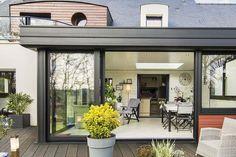 Veranda Aluminium, Extension Veranda, Pergola, Marie Claire, Architecture, Windows, Guide, Outdoor Decor, House