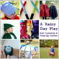 A Rainy Day Play - Kids' Costumes and Dress-Up Clothes