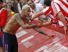 Neymar camisa Sporting Gijon