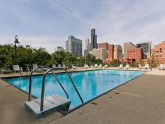 Gorgeous pool with a gorgeous view.  899 S. Plymouth