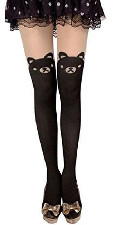 AM Landen Japanese Sexy Mock CAT/BUNNY/BOW/BEAR TIGHTS Pantyhose Ship From US (Black/Bear) AM Landen http://www.amazon.com/dp/B00L2J8SRA/ref=cm_sw_r_pi_dp_3rymub0WF9PFV