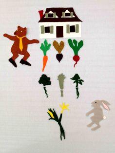 Tops & Bottoms Flannel Board | Garden Storytime