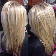 Platinum Blonde Highlights Heavy Blonde Highlights And