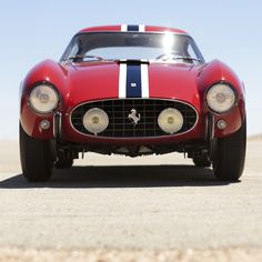Imagine this in your rearview in the mid fiftys.      1956 Ferrari 250 GT Berlinetta Tour de France
