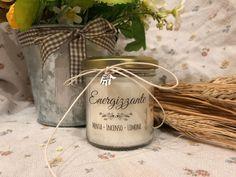Ti voglio bene Nonna Idea Regalo Vasetto con candela personalizzabile cera di soia oli essenziali stoppino in legno Festa dei Nonni Regalo per la Nonna Regalo di Natale