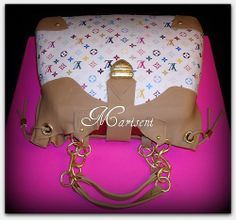Louis Vuitton Bag Birthday Cake