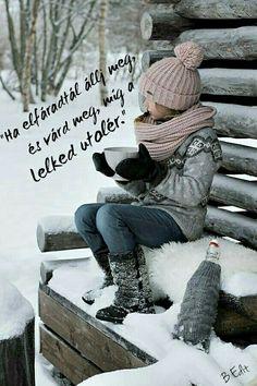 Winter, snow and hot cocoa I Love Winter, Winter Fun, Winter Is Coming, Winter White, Winter Season, Winter Christmas, Snow Scenes, Winter Scenes, Winter Cabin