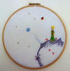 Awesome Little Prince stitching by Flickr user bodzierwa.